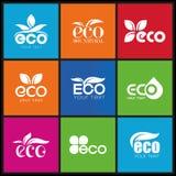 Ecology, icon set. Eco-icons Royalty Free Stock Images