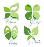 Ecology icon set Royalty Free Stock Photography