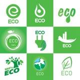Ecology Icon Set Royalty Free Stock Photo