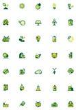 Ecology icon set Royalty Free Stock Photos