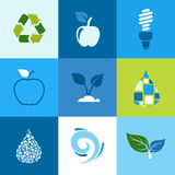 Ecology icon2 Stock Photography