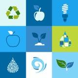Ecology icon2 Stock Photography