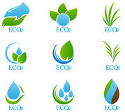 Ecology icon set 04 Royalty Free Stock Photography