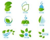 Ecology icon set 02 Stock Photos