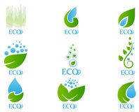 Ecology icon set 03 Stock Images