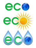 Ecology icon. Royalty Free Stock Image
