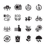 Ecology icon set 7, vector eps10 Royalty Free Stock Photos