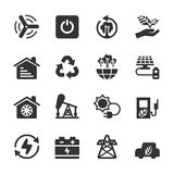 Ecology icon set 8, vector eps10 Royalty Free Stock Photography