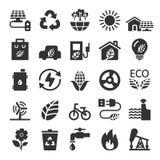 Ecology icon set 9, vector eps10 Stock Photography