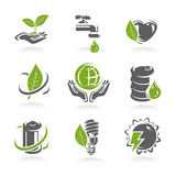 Ecology icon set. Vector Stock Photography