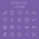 Ecology icon set. Stock Photos