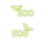 Ecology icon. Vector Royalty Free Stock Images