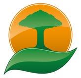 Ecology icon. Stock Photography