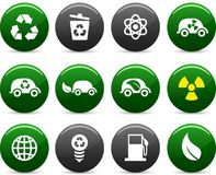 Ecology icons. Stock Photos