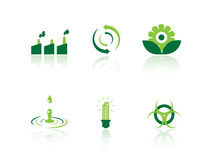 Ecology icons. Set of ecology icons from a series in my portfolio Stock Images