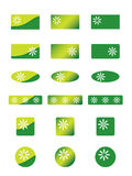 Ecology icons. Set of ecology icons.  Easy to edit, more icons and buttons in my portfolio Stock Photography