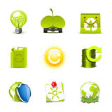 Ecology icons | Bella series Stock Photo
