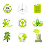 Ecology icons | Bella series Royalty Free Stock Image