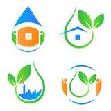 Ecology icons Royalty Free Stock Image