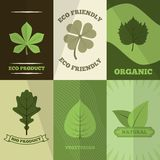 Ecology icons poster print Royalty Free Stock Photo