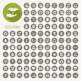 Ecology icons set Stock Photo