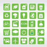 24 Ecology Icons Set. 24 Ecology Vector Icons Set.EPS10 Stock Photos