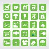 24 Ecology Icons Set. Stock Photos