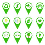 Ecology Icons Stock Image