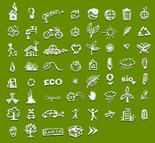 Ecology icons for your design Stock Images