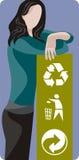 Ecology illustration series Royalty Free Stock Photo