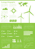 Ecology info graphics collection Vector Illustration