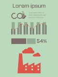 Ecology Infographic Element Royalty Free Stock Images