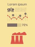 Ecology Infographic Element Stock Photography
