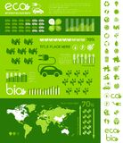 Ecology Infographic Template. Stock Photography
