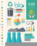 Ecology Infographic Template. Stock Photo