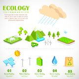 Ecology Infographics Chart Stock Photography