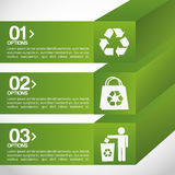 Ecology infographics. Design, vector illustration eps10 graphic Stock Image