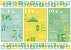 Ecology Infographics Stock Photos