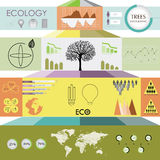 Ecology information graphic Stock Photo