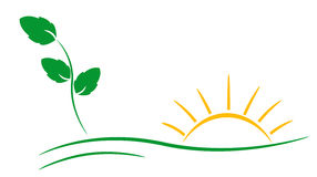 Ecology logo. Stock Photography
