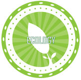 Ecology logo Royalty Free Stock Images