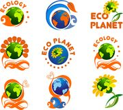 Ecology logo Stock Photo