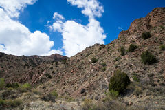 Ecology Park Temple Canyon Canon City Colorado. Southwestern landscapes / old west scenics located in Ecology Park Temple Canyon Canon City Colorado. Views of Royalty Free Stock Photos