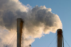 Ecology and pollution Royalty Free Stock Photography