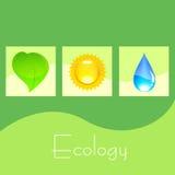 Ecology postcard Stock Photo