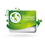 Ecology postcard Royalty Free Stock Photography