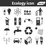 Ecology and recycle icons vector set Stock Photography