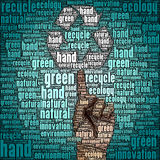 Ecology of recycle, reuse and reduce. The ecology of recycle, reuse and reduce Stock Images