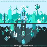 Ecology And Recycling Composition Royalty Free Stock Images