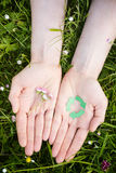 Ecology and Recycling Concept Stock Photos